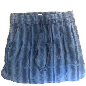 Dylan Blue Aztec Skirt